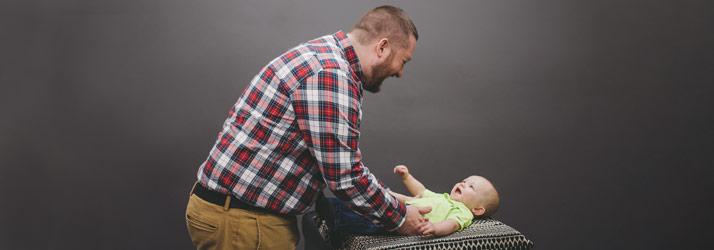 Chiropractor Fitchburg WI Kodi Schroeder Adjusting Infant