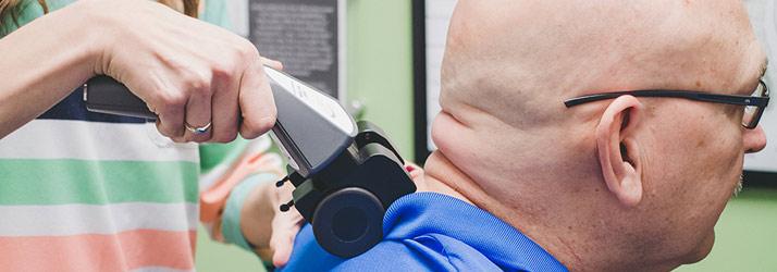 Chiropractor Fitchburg WI Mackenzie Schroeder Using Tool Senior